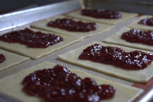 Homemade Raspberry Pop Tarts