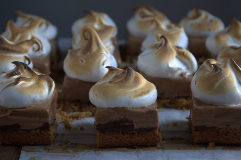 Chocolate Mousse S'mores